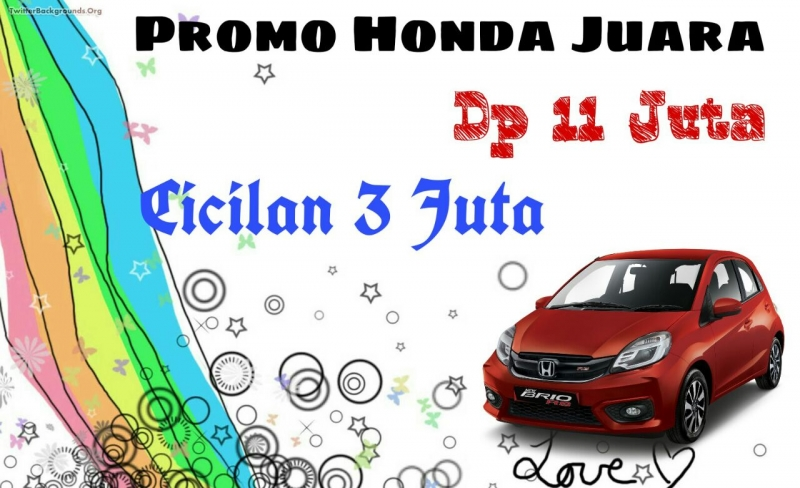 Promo kredit mobil HondaBandung